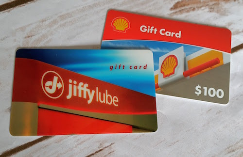 jiffy lube shell gift card