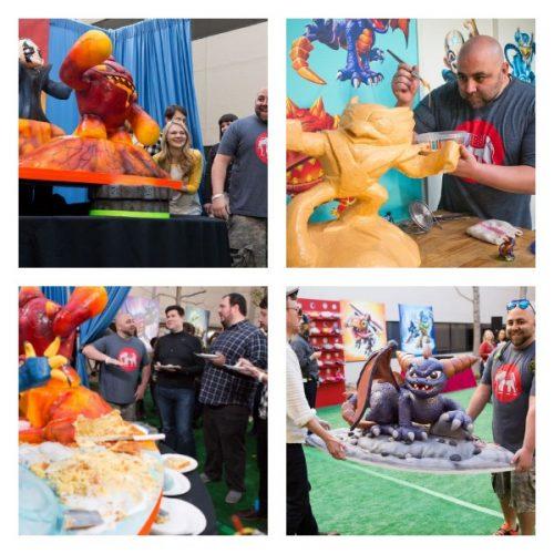 Skylanders Party & Cake Masters Challenge @skylandersthegame @SkylandersGame