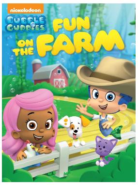 "DVD ""Bubble Guppies: Fun On The Farm"""