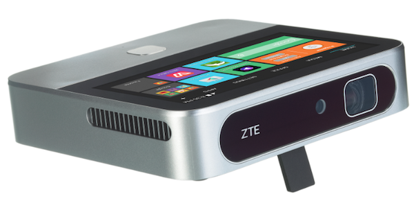 A Powerful Yet Portable Projector With a Built-in Android Touchscreen @BestBuy @ZTE_USA