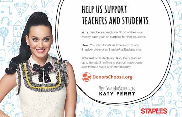 Staples Surprises Chicago Teachers, Plus a Staples Sweepstakes to Win a Scholarship