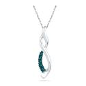 Win a Blue Diamond Flame Pendant