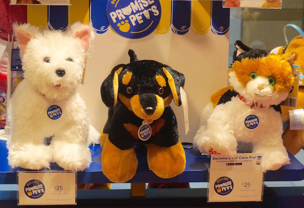 Our Fun at Build-A-Bear Workshop With Pets and Superheroes