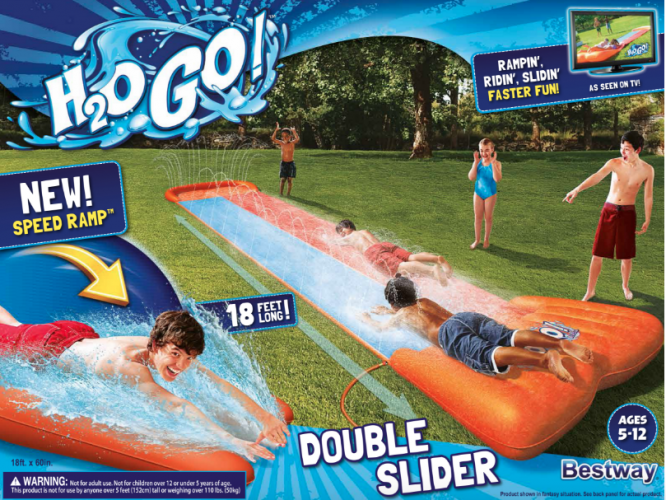 Summer Fun With H2OGO! Backyard Water Toys