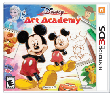 Nintendo 3DS Disney Art Academy