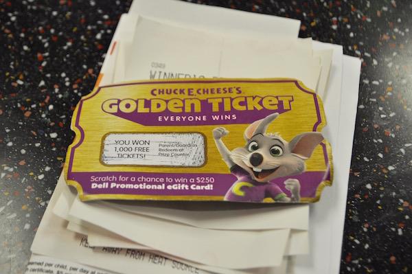 chuck e cheeses 25