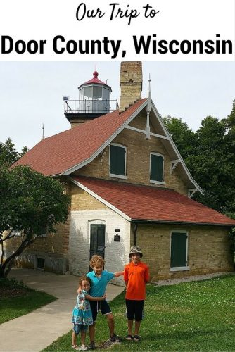 Our Road Trip to {Door County, Wisconsin} #RoadTripChip