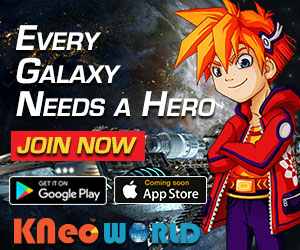KNeoWorld: A Game App That's Fun + Educational Plus You Can Fundraise With it!