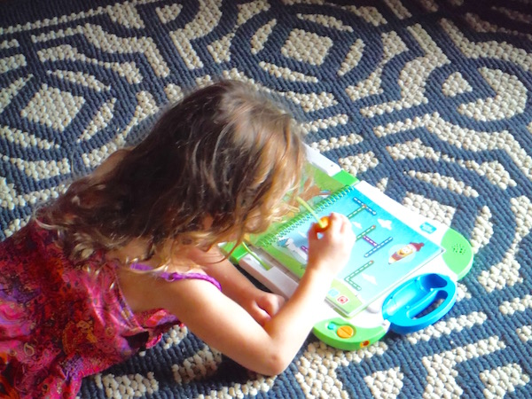 Learning New Skills With LeapFrog's New Interactive Learning System, LeapStart