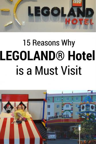 15 Reasons Why LEGOLAND® Hotel is a Must Visit #builtforkids #LEGOLANDFL