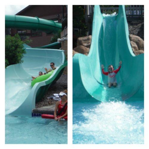 wilderness resort dells slides