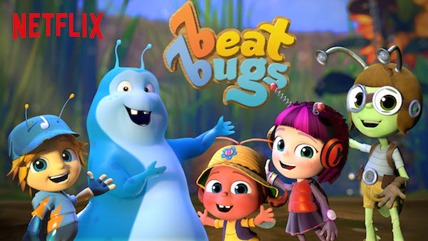 """Come together right now over me…"" @Netflix #StreamTeam #BeatBugs"