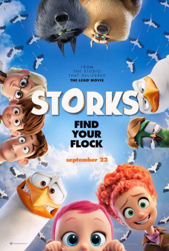 Storks Arrives in theaters September 23 #Storks