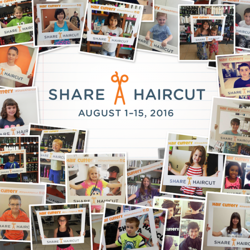 Get a Haircut, Share a Haircut in Your Community #ShareaHaircut