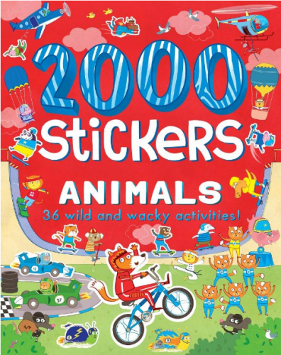 parragon 2000 Stickers Animals