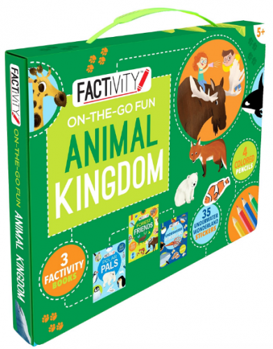 parragon Factivity On-The-Go Animal Kingdom