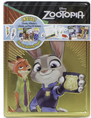 parragon Zootopia Collector's Tin