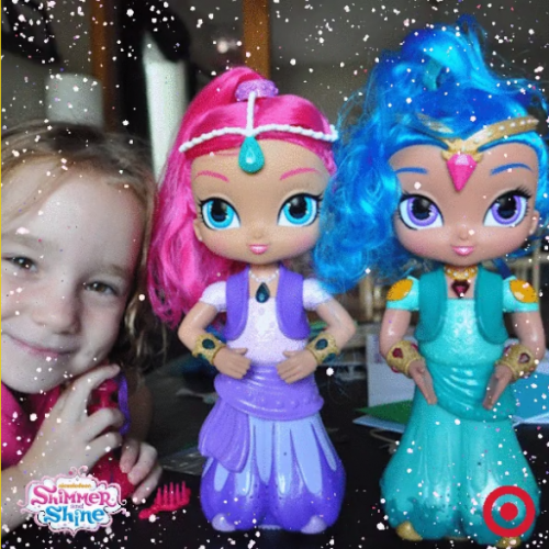 Getting Glitterized With Shimmer and Shine #sponsored #ShimmerandShineParty