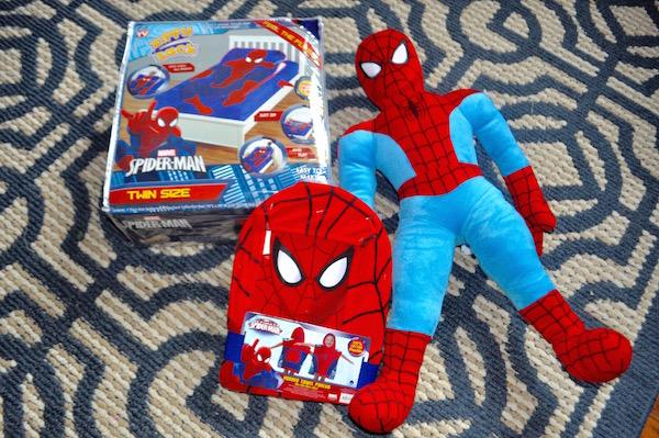 Spider-Man ZippySack & More Spider-Man Fun @jfs.home #JFShome