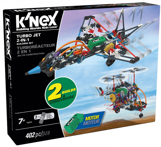 2-in-1 Building Set Fun With K'NEX #KNEX