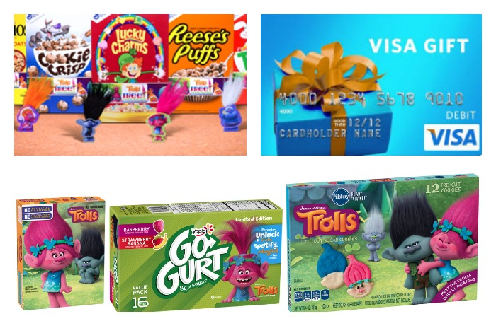One Dreamworks Trolls Post Cereal Box Limited Collector/'s Edition