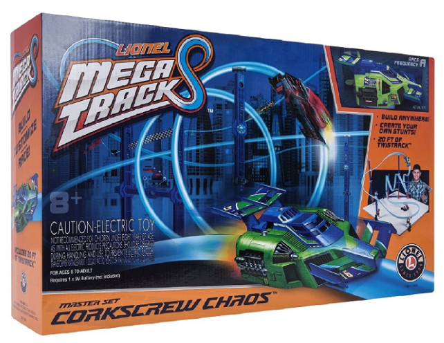 Flexible Track Building Fun With the Lionel Mega Tracks Set