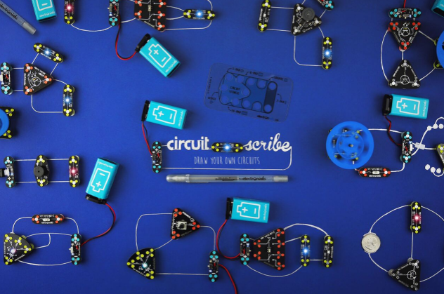 Drawing Circuits on Paper & More STEM fun with Circuit Scribe