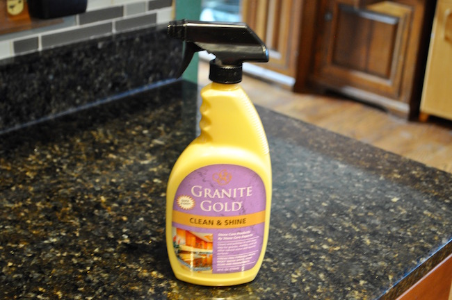 Cleaning & Polishing Granite With One Bottle of Granite Gold
