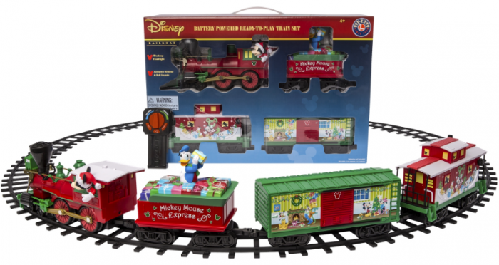 Cruising Around With Disney Mickey Mouse Express Ready-to-Play Set