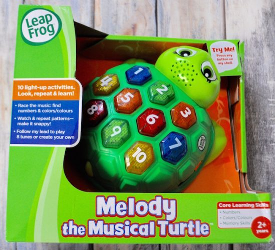 Jamming Out With Melody the Musical Turtle
