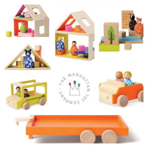 Creative Building Fun With Wooden Set From MiO