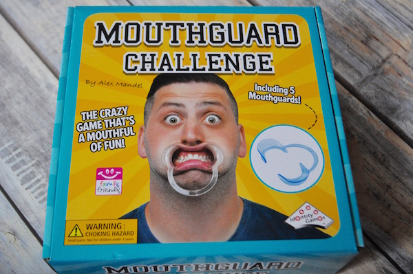 A Family and Party Game That's a Mouthful – Mouthguard Challenge (& Giveaway Ends 12/16)