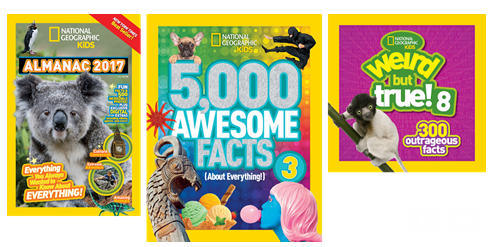 Don't Forget About National Geographic Kids for the Holidays! #NatGeoKidsBooks (& Giveaway Ends 12/12)