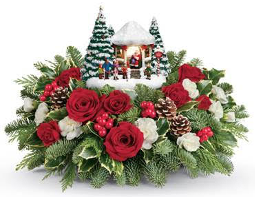 Fill Homes With Holiday Cheer With Teleflora Flowers