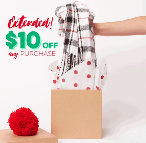 $10 Off $10 Coupon at Charming Charlie = Free Item