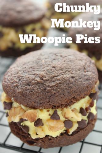 Recipe: Chunky Monkey Whoopie Pies