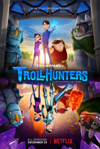 DreamWorks Trollhunters Are Coming @Netflix #StreamTeam