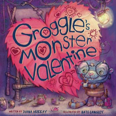 "Book ""Groggle's Monster Valentine"" @skyhorsepub @skyponypress"