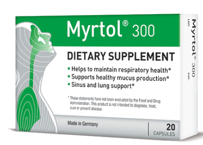 Natural Sinus Congestion Relief With Myrtol 300 (& Giveaway Ends 1/20)