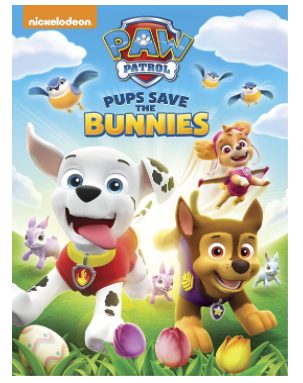 """DVD """"Paw Patrol: Pups Save the Bunnies"""" (& Giveaway Ends 3/24)"""