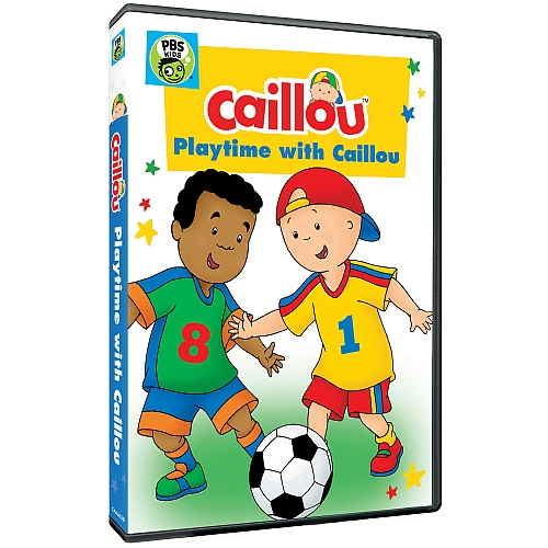 "DVD ""Playtime With Caillou"" (& Giveaway Ends 2/24)"