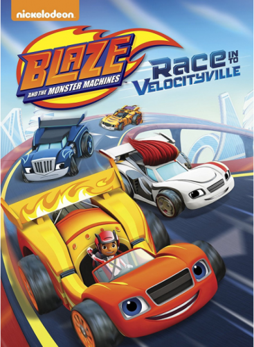 """Blaze and the Monster Machines: Race to VelocityVille"" (& Giveaway Ends 4/7)"