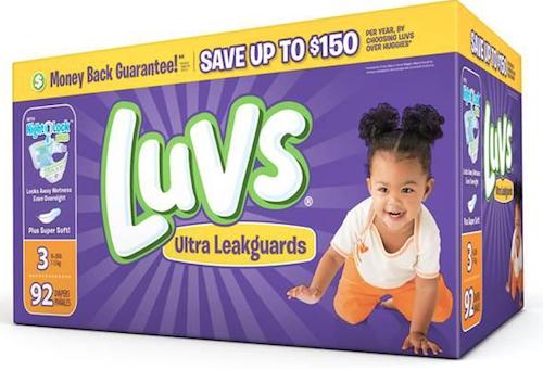 Dry Nights With Luvs NightLock Plus™ @Luvs #SharetheLuv #ad
