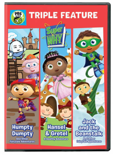 """Super WHY!: Triple Feature"""