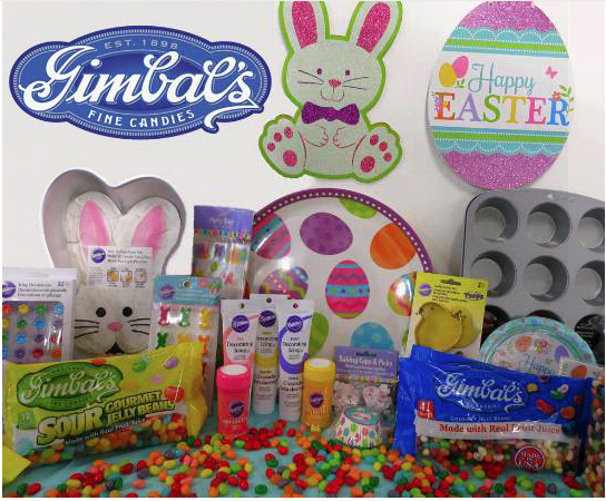 Don't Miss Gimbal's Make 'N Bake Easter Party Sweepstakes!