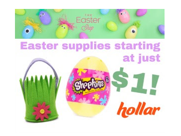 Easter Stuffers and More Starting at $1!