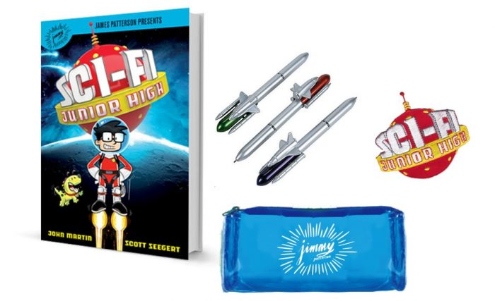 "James Patterson Presents ""Sci-Fi Junior High"" #SciFiJuniorHigh (& Giveaway Ends 3/31)"
