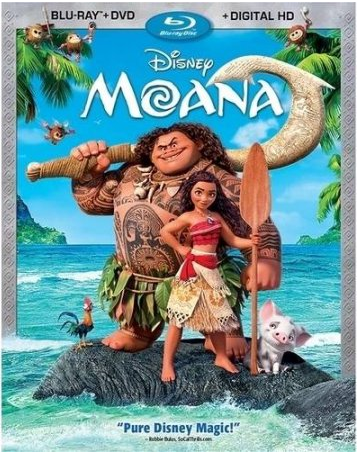 "Get $10 Cash Back off Your Disney ""Moana"" Blu-ray Purchase!"