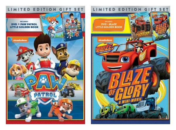 """Blaze and The Monster Machines"" & ""PAW Patrol"" Gift Sets (& Giveaway Ends 3/24)"