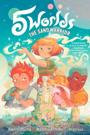 "Graphic Novel ""5 Worlds Book 1: The Sand Warrior"""